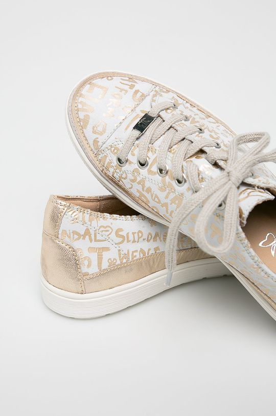Caprice - Pantofi Gamba: Piele naturala Interiorul: Material sintetic, Material textil Talpa: Material sintetic Introduceti: Piele naturala