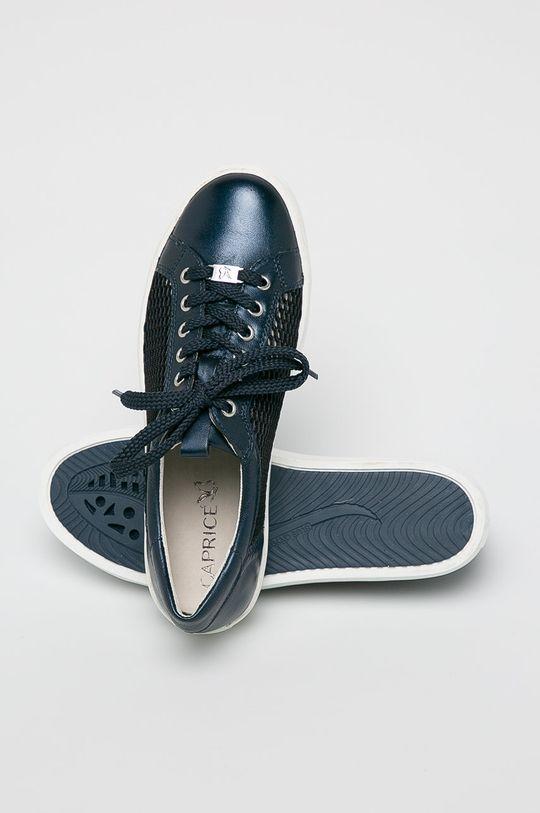 Caprice - Pantofi Gamba: Material textil, Piele naturala Interiorul: Material sintetic, Material textil Talpa: Material sintetic Introduceti: Piele naturala