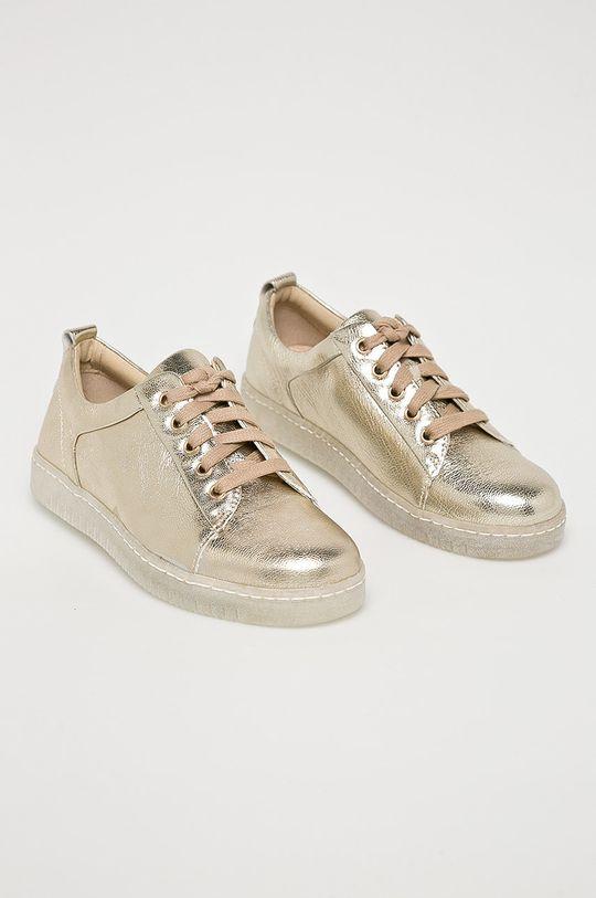 Caprice - Pantofi aur