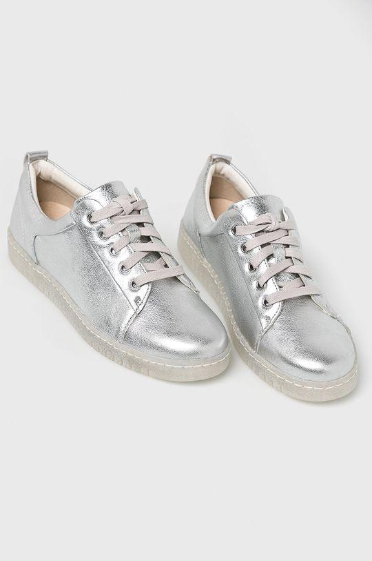 Caprice - Pantofi argintiu