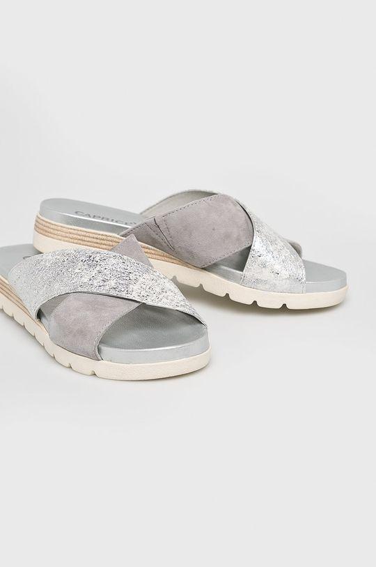Caprice - Papuci argintiu