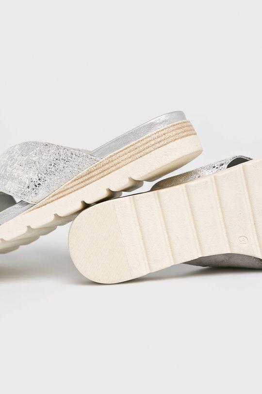 argintiu Caprice - Papuci