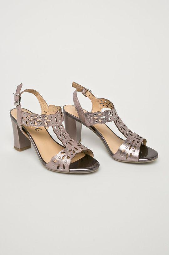 Caprice - Sandale roz murdar
