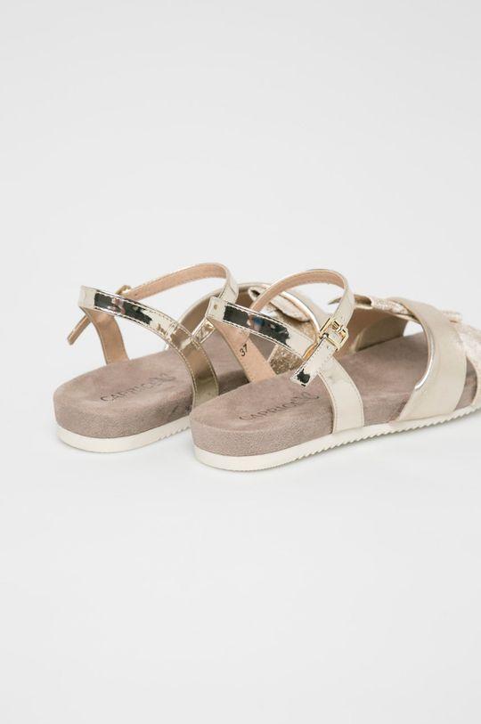 Caprice - Sandale Gamba: Material sintetic, Piele naturala Interiorul: Material sintetic, Material textil Talpa: Material sintetic