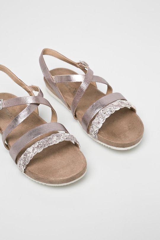 Caprice - Sandale roz pastelat