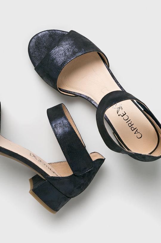 Caprice - Sandale Gamba: Piele naturala Interiorul: Material sintetic Talpa: Material sintetic Introduceti: Piele naturala