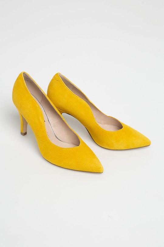 galben Caprice - Pantofi cu toc De femei