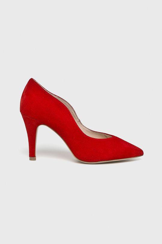 rosu Caprice - Pantofi cu toc De femei