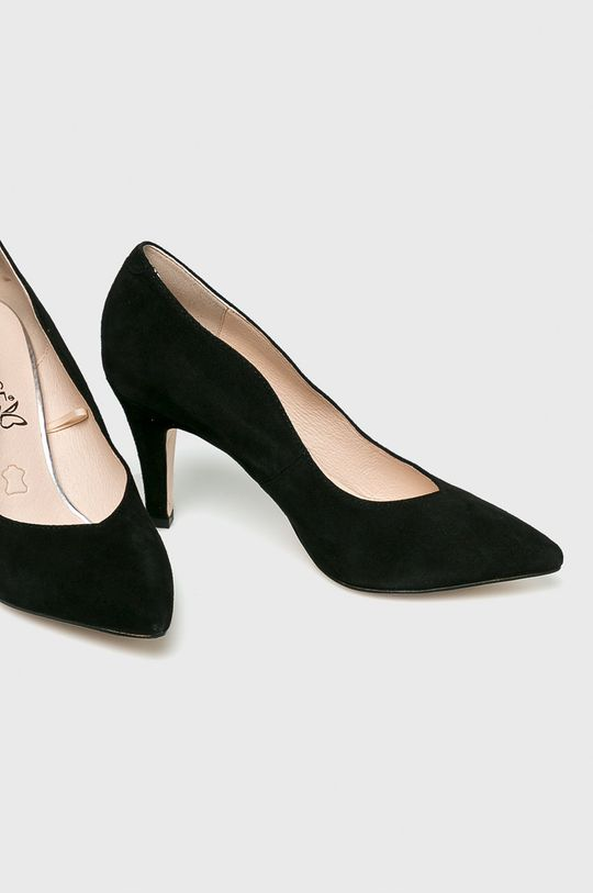 Caprice - Pantofi cu toc negru