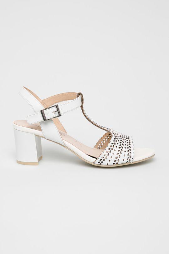 alb Caprice - Sandale De femei