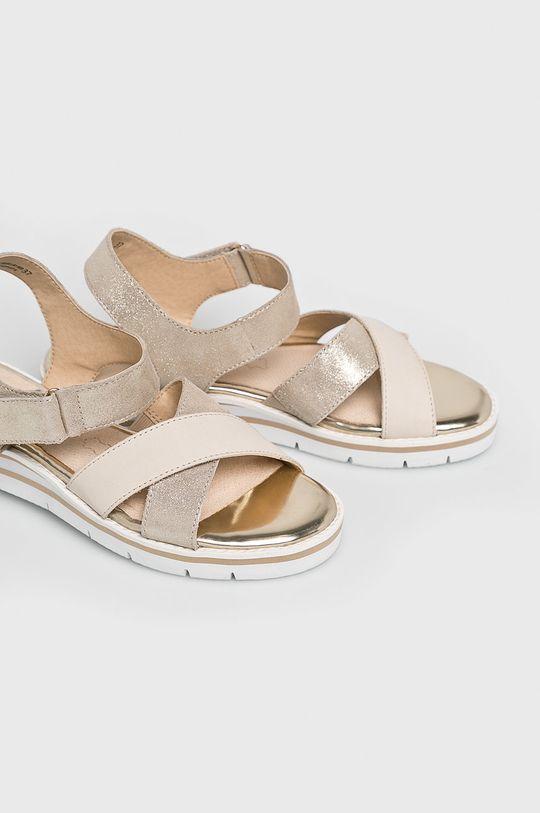 Caprice - Sandale culoarea tenului