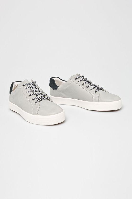 Caprice - Pantofi gri deschis