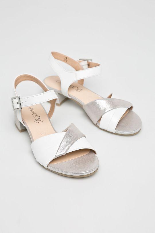 Caprice - Sandale alb