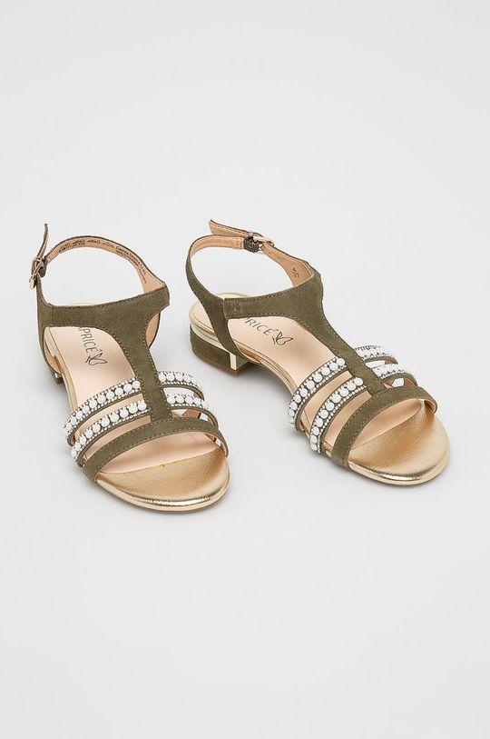 Caprice - Sandale verde maro