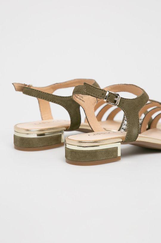 Caprice - Sandale Gamba: Piele naturala Interiorul: Material sintetic, Piele naturala Talpa: Material sintetic