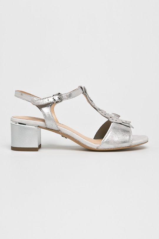argintiu Caprice - Sandale De femei