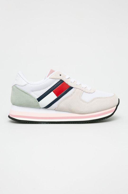 fehér Tommy Jeans - Cipő Retro Tommy Jeans Sneaker Női