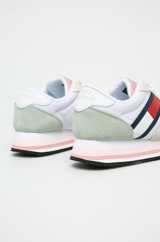 Tommy Jeans - Cipő Retro Tommy Jeans Sneaker  Szár: textil, természetes bőr Belseje: textil Talp: szintetikus anyag