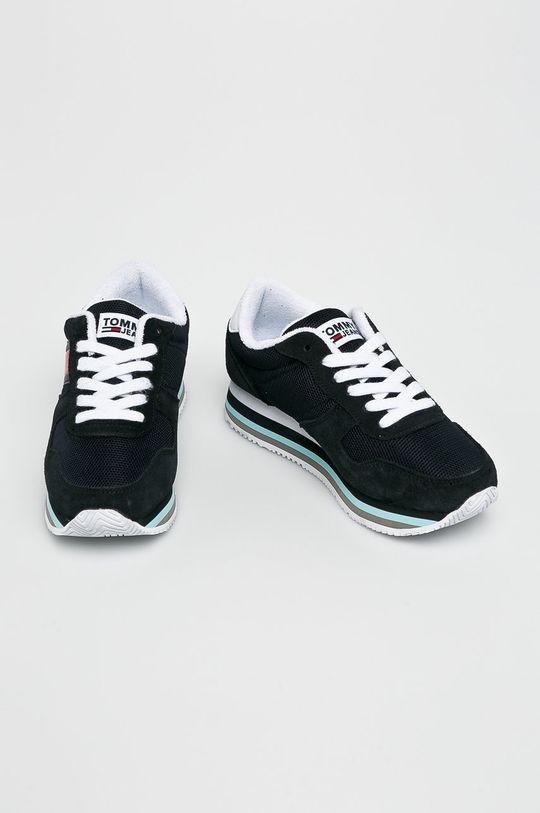 Tommy Jeans - Cipő Retro Tommy Jeans Sneaker sötétkék
