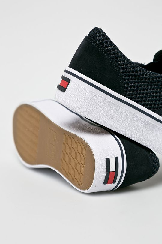Tommy Jeans - Sportcipő Slipon Textile City Sneaker  Szár: textil, természetes bőr Belseje: textil Talp: szintetikus anyag