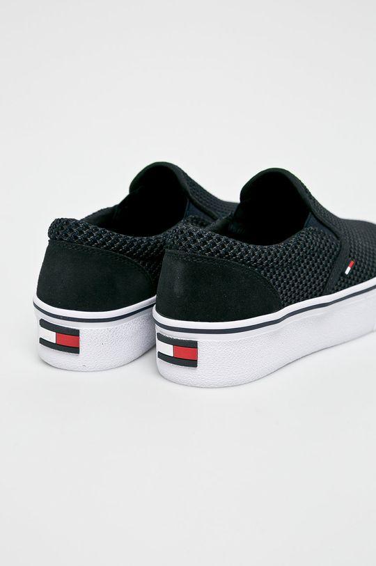 sötétkék Tommy Jeans - Sportcipő Slipon Textile City Sneaker
