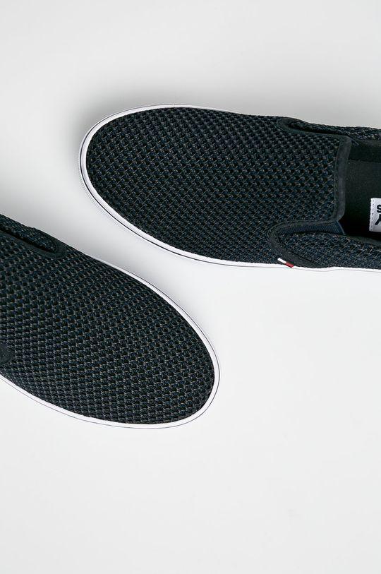 Tommy Jeans - Sportcipő Slipon Textile City Sneaker Női
