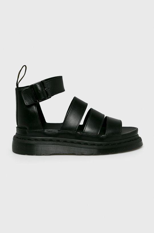 čierna Dr Martens - Sandále Dámsky