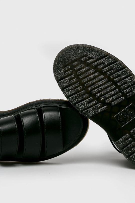 čierna Dr Martens - Sandále