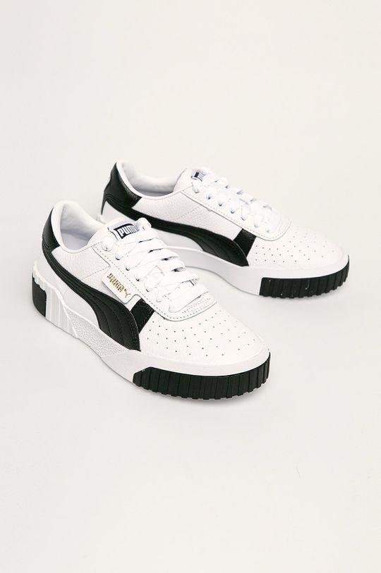 Puma - Topánky Cali biela