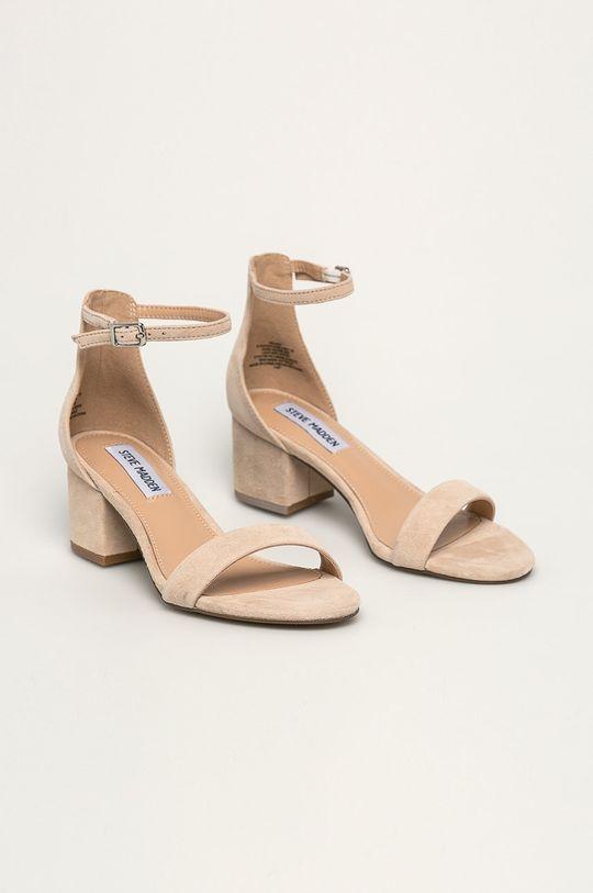 Steve Madden - Kožené sandále Irenee piesková