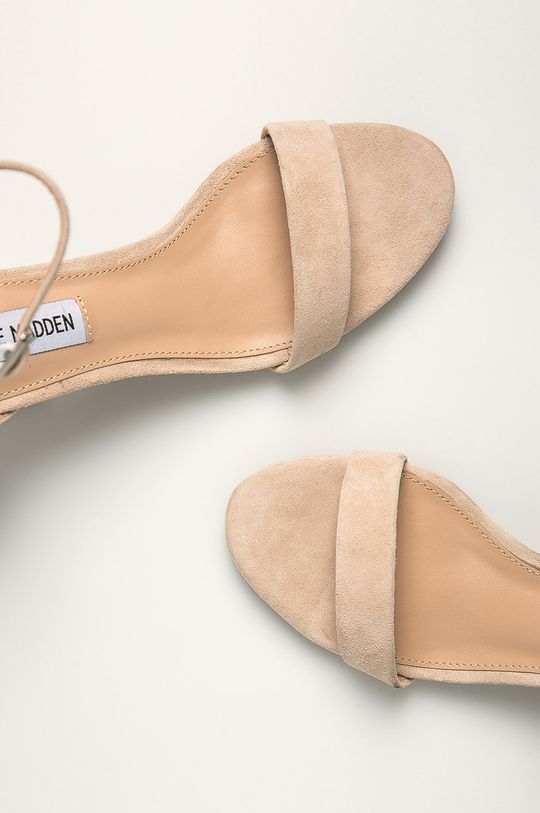 piesková Steve Madden - Kožené sandále Irenee