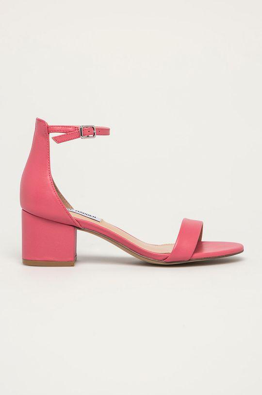růžová Steve Madden - Kožené sandály Irenee Dámský