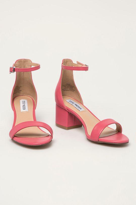 Steve Madden - Kožené sandály Irenee růžová