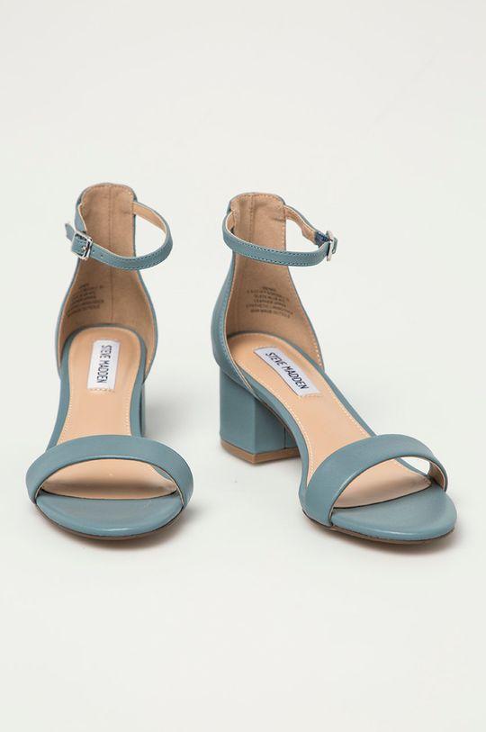 Steve Madden - Kožené sandály Irenee světle modrá
