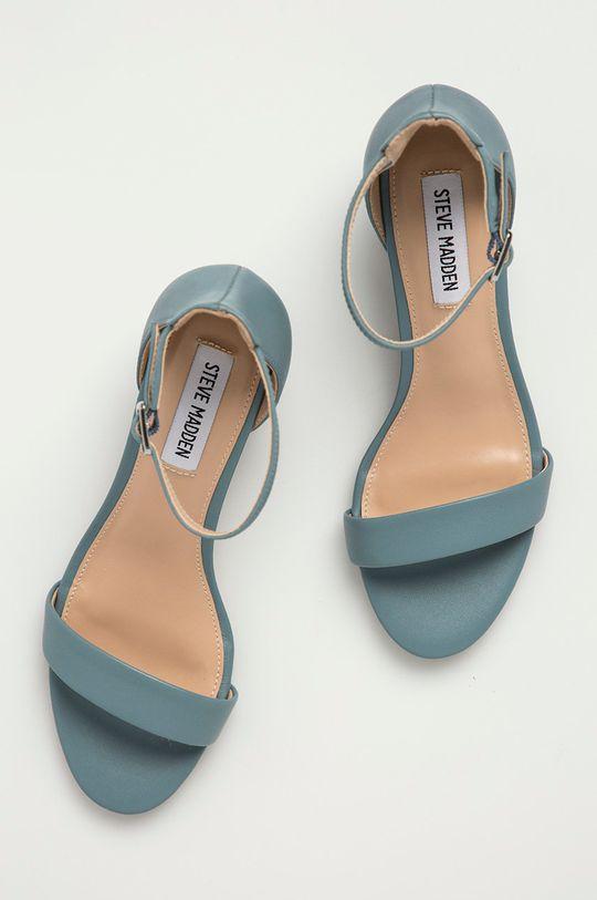 světle modrá Steve Madden - Kožené sandály Irenee