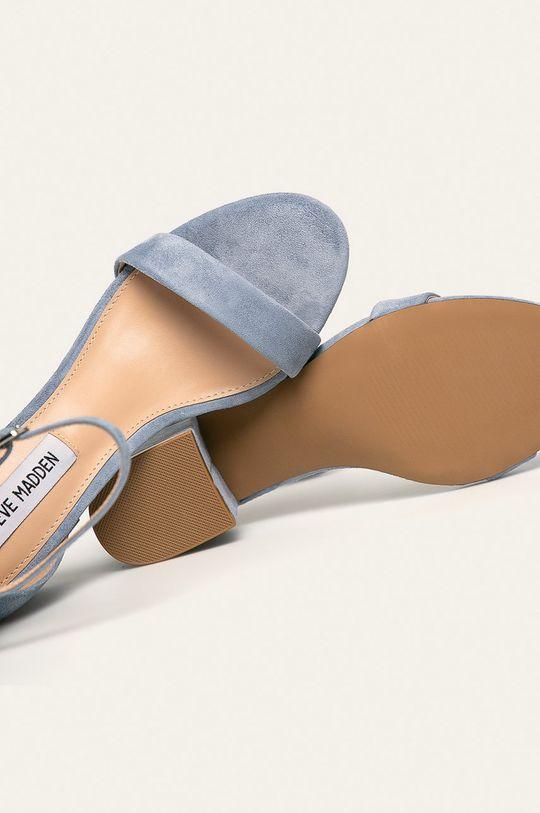 svetlomodrá Steve Madden - Kožené sandále Irenee