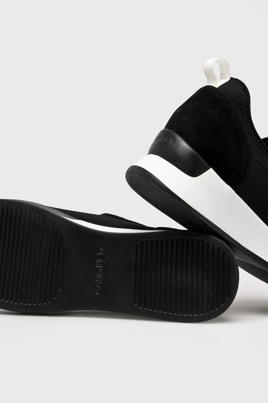 černá Calvin Klein - Boty