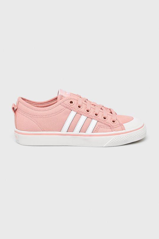 roz adidas Originals - Pantofi Nizza De femei