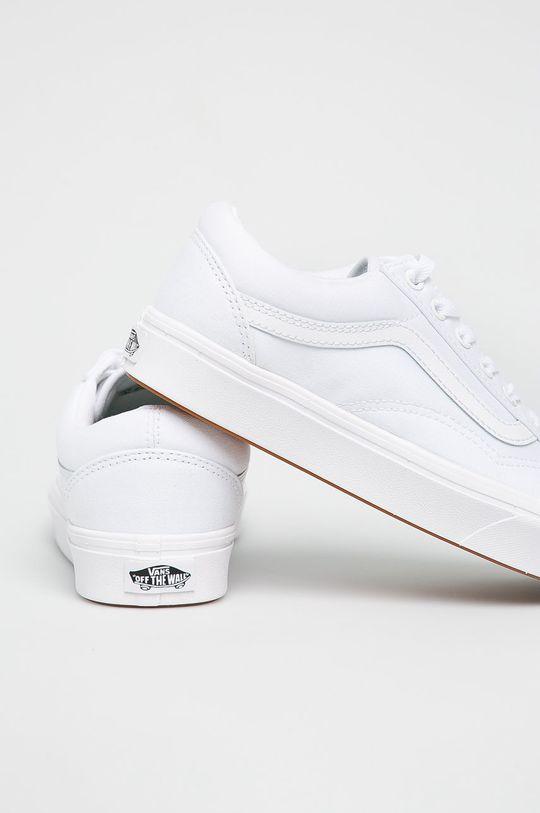 biały Vans - Tenisówki