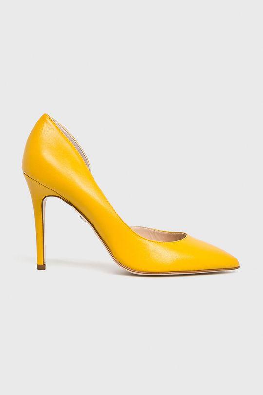 žltá Solo Femme - Lodičky Dámsky