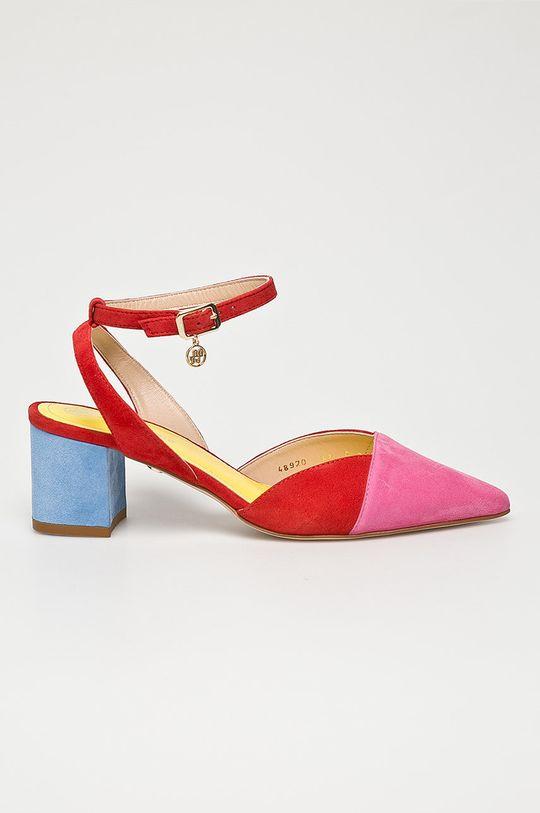 rosu Solo Femme - Sandale De femei