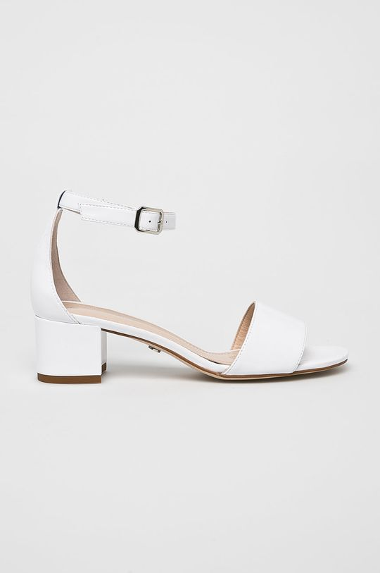 biela Solo Femme - Sandále Dámsky