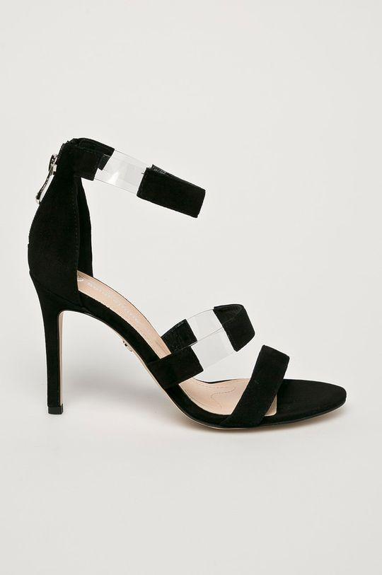 čierna Solo Femme - Sandále Dámsky