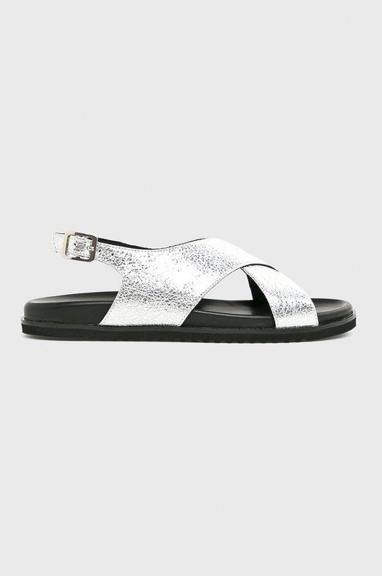argintiu Solo Femme - Sandale De femei