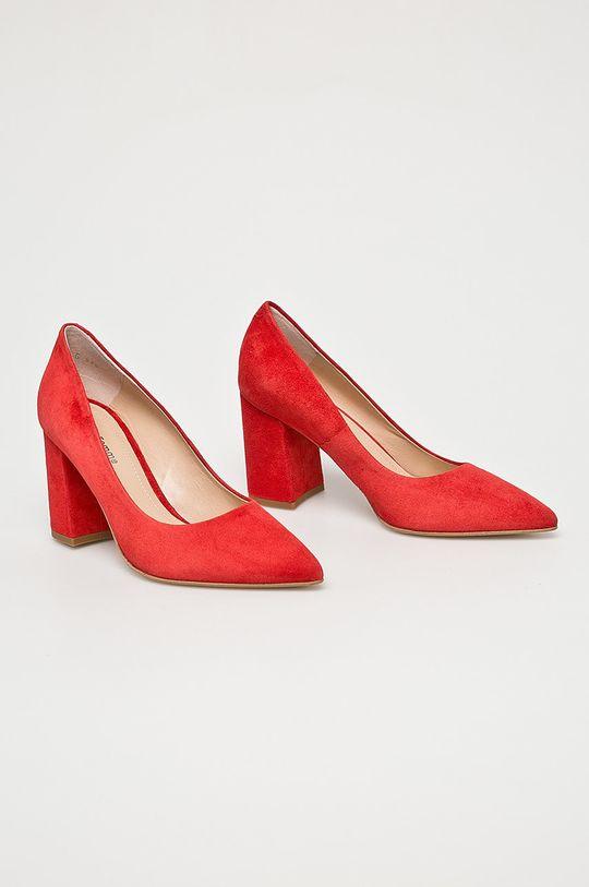 Solo Femme - Lodičky červená