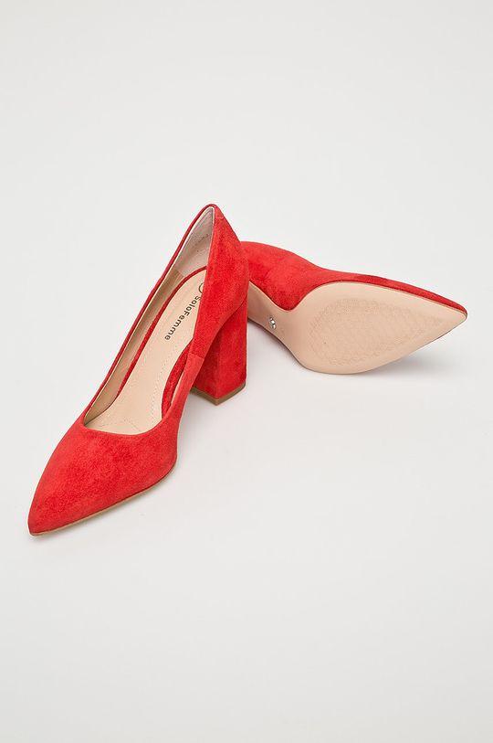 červená Solo Femme - Lodičky