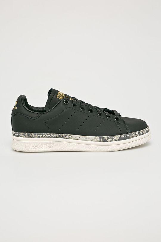 čierna adidas Originals - Topánky Stan Smith New Bold Dámsky