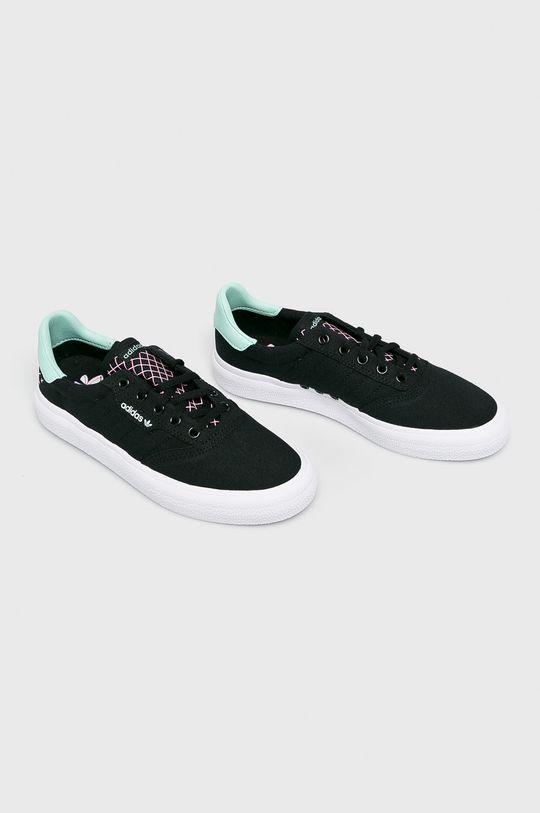 adidas Performance - Topánky 3Mc čierna