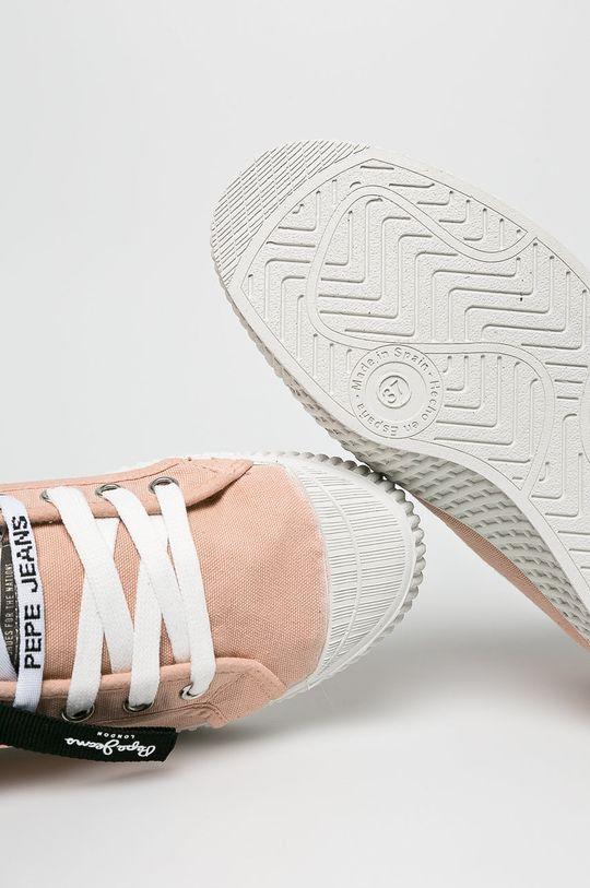 pasztell rózsaszín Pepe Jeans - Sportcipő In-G Hi Woman