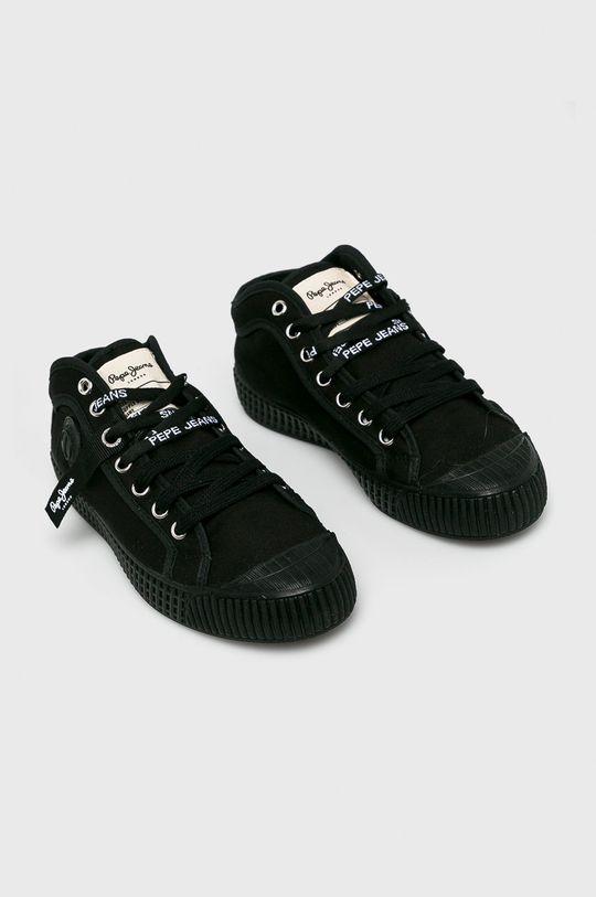 Pepe Jeans - Sportcipő In-G Hi Woman fekete